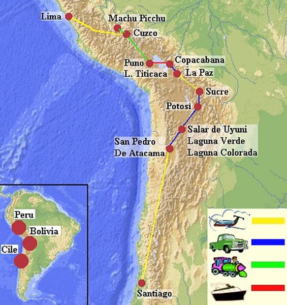 Viaggio in Bolivia, Peru e Cile tra magnifici paesaggi
