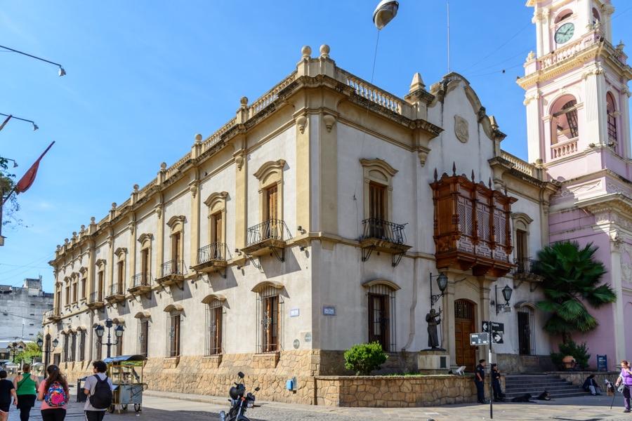 Salta citt nel nord ovest dell argentina for Piani di casa in stile artigiano nord ovest